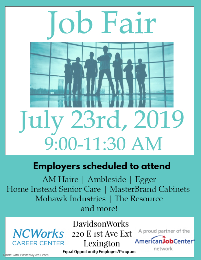 July Job Fair Lexington