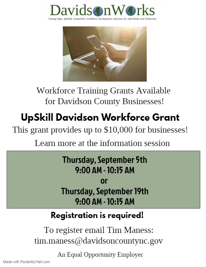 Workforce Training Grant 2019